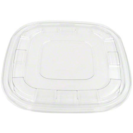 512080F050 CLEAR LID FOR 80 & 120oz SQUARE PULP BOWL 25/CS SAB200