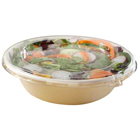 "51932DA300 32oz 8.5"" ROUND CLEAR PET LID 300/CASE"