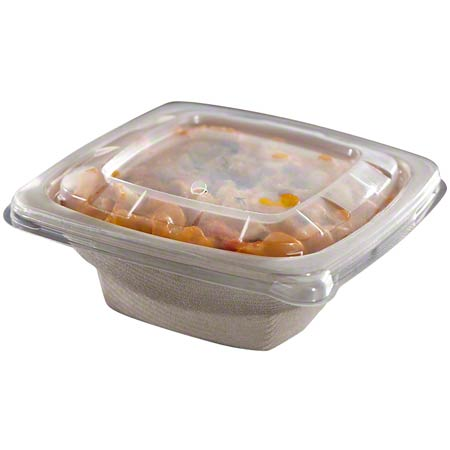51932F300 LID FOR 24, 28, 32oz SQUARE BOWL PP 300/CASE