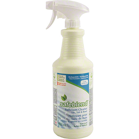 BTFR-X0D SAFEBLEND BATHROOM CLEANER-TILE TUB & BOWL RTU 12 X 950ML