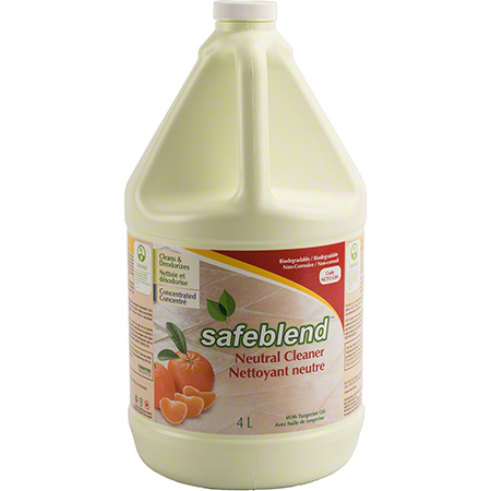 NCTO-G04 SAFEBLEND NEUTRAL CLEANER TANGERINE 4 X 4L