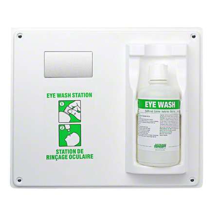 FIRST AID EYE WASH SINGLE STATION FULL