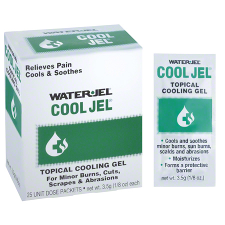 06643 WATER-JEL, COOL BURN JEL 3.5GM 25/BOX