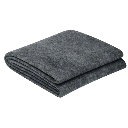 26173 FIRST AID BLANKET WOOL 50% GRAY 152.4 X 213.4 CM