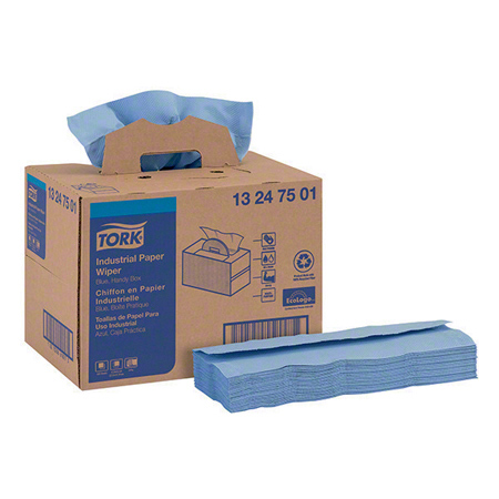 13247501 TORK ADVANCED 440 WIPER, BLUE, HANDYBOX, 180/CS
