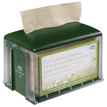 45XPT TORK EXPRESSNAP NAPKIN DISPENSER - GREEN