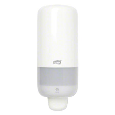 571501 TORK 950 ML MANUAL FOAM SOAP DISPENSER WHITE