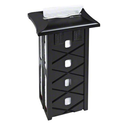 "6032200 Xpress In-Counter Napkin Dispenser 20"" Licorice"