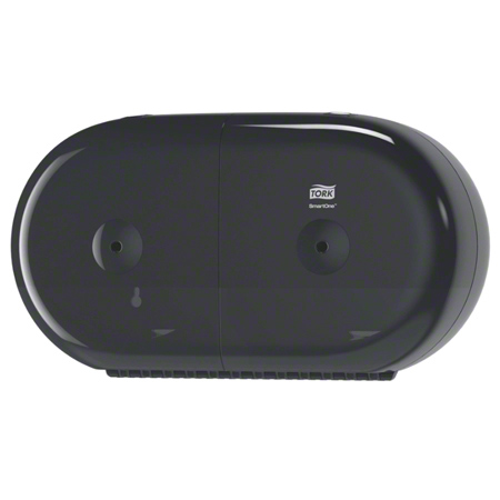 685008 TORK SMARTONE BLACK MINI TWIN TOILET TISSUE DISPENSER