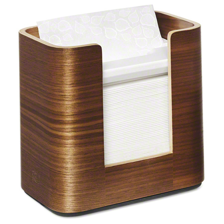 72900 TORK IMAGE XPRESSNAP NAPKIN DISPENSER, WALNUT COLOUR, WOOD