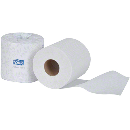 TM6130S TORK ADVANCED BATH TISSUE 2 PLY 48 X 500 SHEETS