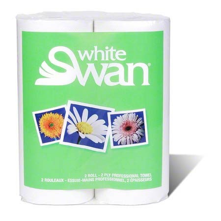 01870 WHITE SWAN HOUSEHOLD TOWEL 24RLS X 80SHEETS/CS