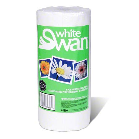 01890 HOUSEHOLD PAPER TOWEL WHITE SWAN 90SHX24/CS