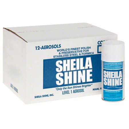 81000 12x10oz. SHEILA SHINE STAINLESS STEEL CLEANER