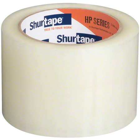 207194 HP100 CLEAR PKG TAPE 72mm X 100m. 24RLS/CS. -SHURTAPE