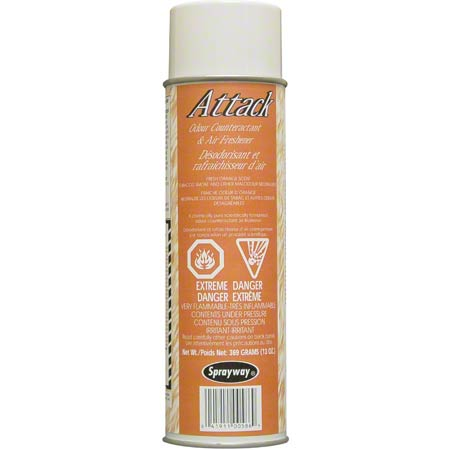 SW586CW 12 X 13 OZ. ATTACK CITRUS AIR FRESHENER