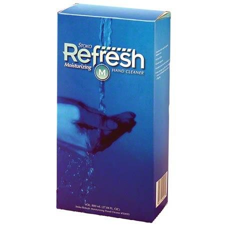 29932 6 X 800ML STOKO REFRESH FOAM MOISTURIZING SOAP UNI102600413