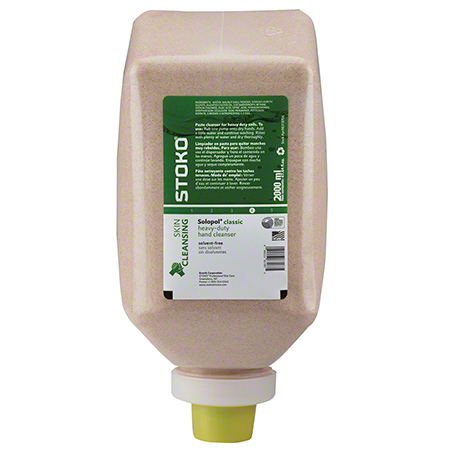 PN98318706 STOKO SOLOPOL CLASSIC SOLVENT FREE MED-H/D HAND CLEANER (BROWN) 6x2000ml/CASE SB