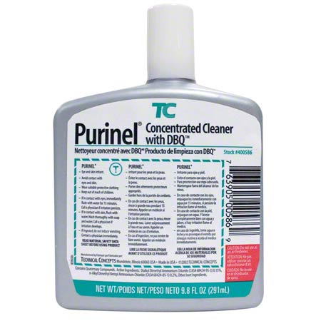 400586 PURINEL DRAIN CLEANER, 6/CS FOR AUTO-CLEAN UNI108000368
