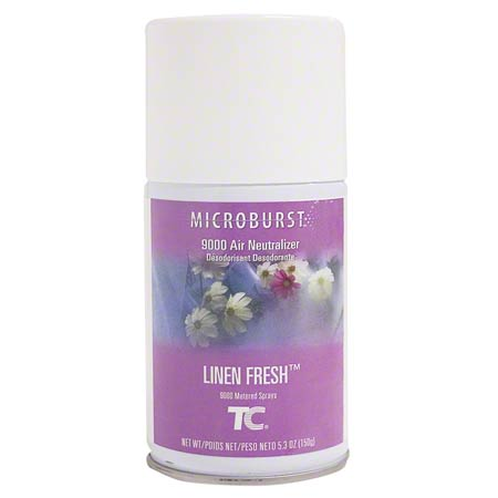 4012441 LINEN FRESH 9000 AIR FRESHENER, 4/CS