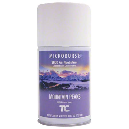 4012461 MOUNTAIN PEAKS 9000 AIR FRESHENER, 4/CS