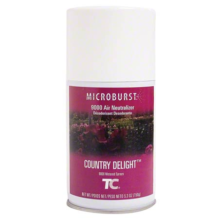 4012481 COUNTRY DELIGHT 9000 AIR FRESHENER, 4/CS
