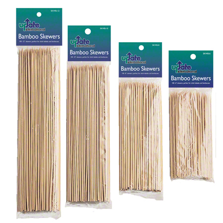 "00404 SKEWER BAMBOO 6"" 25 X 100/CS FS0038"