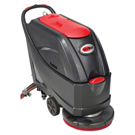 AS5160T105PKGC VIPER AS5160T WALK-BEHIND SCRUBBER WITH TRACTION-DRIVE OPERATION. 20 INCH CLEANING PATH, 16 GAL SOLUTION AND RECOVERY TANK.
