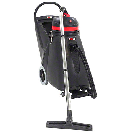 "SN18WD ADVANCE SHOVELNOSE 18GAL WET DRY VACUUM W/24"" FRONT MOUNT SQUEEGEE, ON-BOARD TOOL STORAGE, 2-STAGE"
