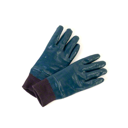 14I-402-SZ11 FULLY COATED NITRILE GLOVES W/KNIT WRIST 12PRS/PKG
