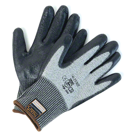14I-T5/NIT(M) TAEKI 5 CUT RESISTANT GLOVE W/NITRILE PALM COAT-MEDIUM