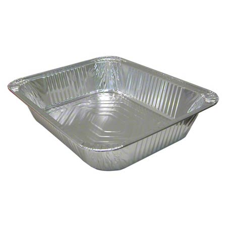 5112 FOIL STEAM TABLE PAN HALF SIZE SHALLOW 100/CASE