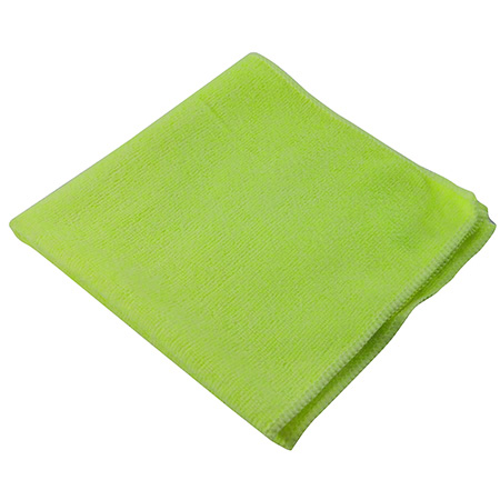"1570-S YE YELLOW 14"" X 14"" MICROFIBRE CLOTH 10/PKG ( WI1570SYE)"