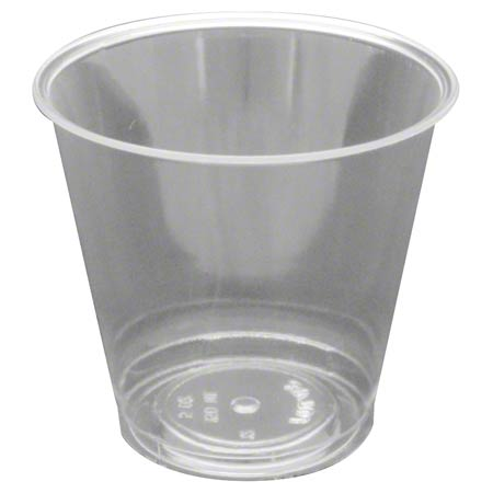 55005 5oz PLASTIC JUICE CUPS 1000 CS. (HARD PLASTIC)