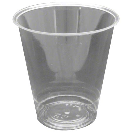 55007 7oz POLAR CLEAR PLASTIC CUPS 500 CASE