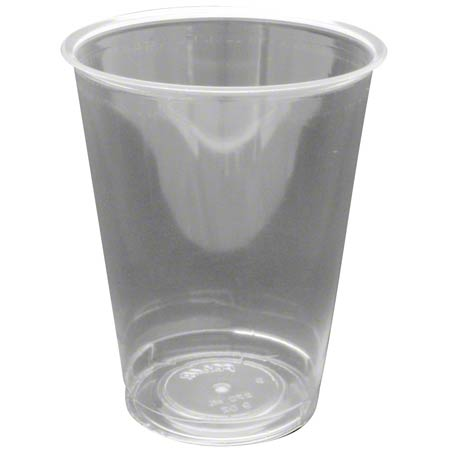 55009 9 Oz CLEAR PLASTIC CUPS 500 CASE