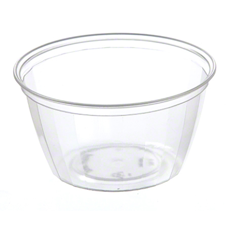 55088 PLASTIC 8 OZ FLEXIBLE FOOD DISH POLAR 1000/CASE