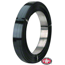 CWC® Standard Duty Steel Strapping - 1/2 W x .023 Thick