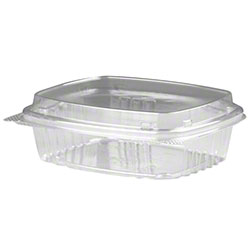 Genpak® High Dome Lid, Clear Deli Container - 8 oz.