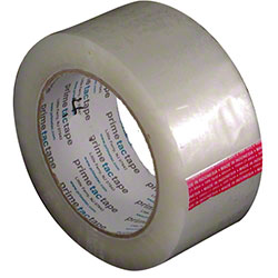 "Primetac BOPP 420 Carton Sealing Tape - 2"" x 110 yd, Clear"