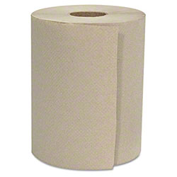 """GEN Hardwound 1-Ply, Natural, 8"""" x 500' Roll Towels"""