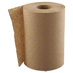 """GEN Hardwound 1-Ply, Natural, 8"""" x 300' Roll Towels"""