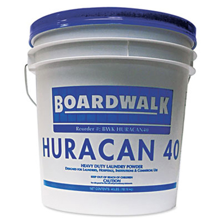 Boardwalk Huracan 40 Low Suds Laundry Detergent - 40#, WE