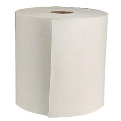 8x425 White Hardwound Towel Green Seal™  12/case