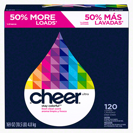 P&G Cheer® Stay Colorful™ Powder Laundry Detergent - 169 oz