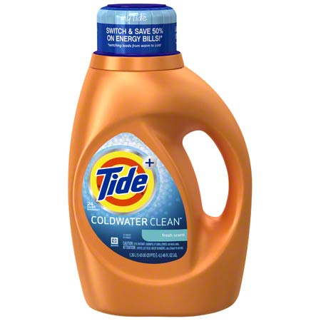 P&G Tide® Cold Water Clean™ Liquid Laundry Detergent