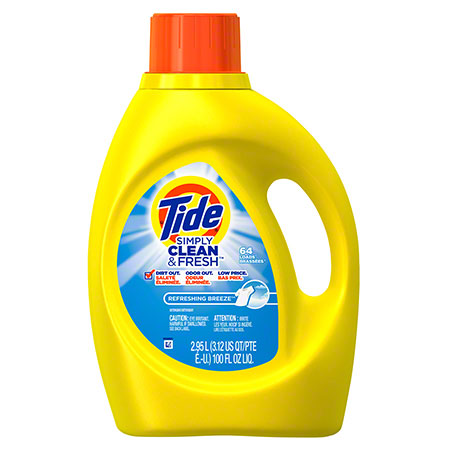 P&G Tide® Liquid Simply Clean & Fresh Laundry Detergent