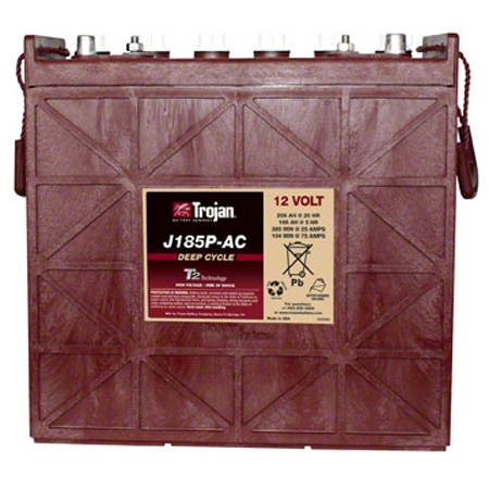 Trojan® J185PAC Deep-Cycle 12V Battery w/T2 Technology™