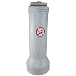 Impact® The Butler™ Smoker's Receptacle - Gray Granite