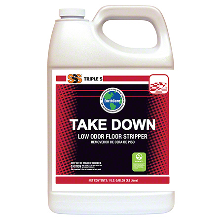SSS® Take Down Low Odor Floor Stripper - Gal.